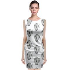 Fish Ikan Piranha Classic Sleeveless Midi Dress