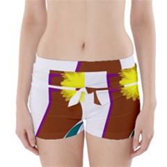 Stiletto  Boyleg Bikini Wrap Bottoms