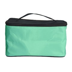 Flower Floral Green Cosmetic Storage Case