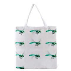 Flying Dragonfly Grocery Tote Bag
