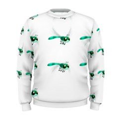 Flying Dragonfly Men s Sweatshirt