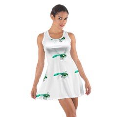Flying Dragonfly Cotton Racerback Dress