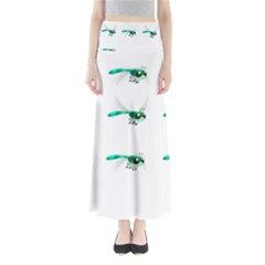 Flying Dragonfly Maxi Skirts