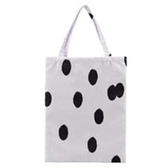 Gold Polka Dots Dalmatian Classic Tote Bag