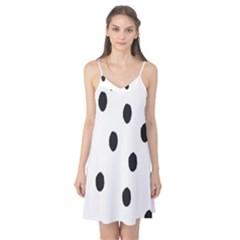 Gold Polka Dots Dalmatian Camis Nightgown