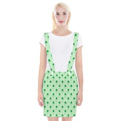 Palm Tree Coconoute Green Sea Suspender Skirt