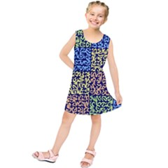 Puzzle Color Kids  Tunic Dress