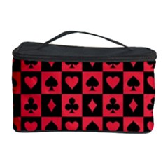 Queen Hearts Card King Cosmetic Storage Case