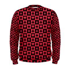 Queen Hearts Card King Men s Sweatshirt