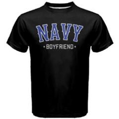 NAVY boyfriend -  Men s Cotton Tee