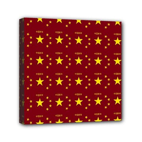 Chinese New Year Pattern Mini Canvas 6  x 6