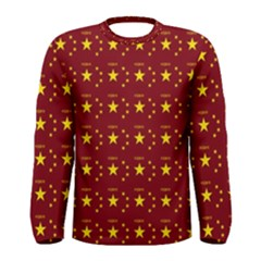 Chinese New Year Pattern Men s Long Sleeve Tee