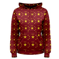 Chinese New Year Pattern Women s Pullover Hoodie
