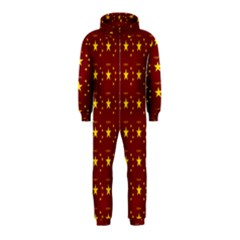 Chinese New Year Pattern Hooded Jumpsuit (Kids)