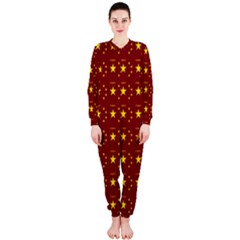 Chinese New Year Pattern OnePiece Jumpsuit (Ladies)