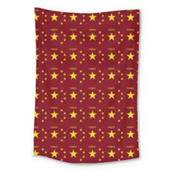 Chinese New Year Pattern Large Tapestry