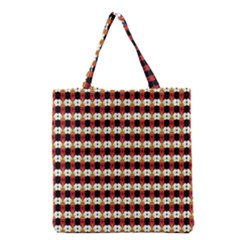 Queen Of Hearts  Hat Pattern King Grocery Tote Bag