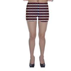 Queen Of Hearts  Hat Pattern King Skinny Shorts