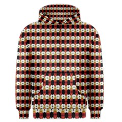 Queen Of Hearts  Hat Pattern King Men s Zipper Hoodie
