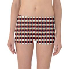 Queen Of Hearts  Hat Pattern King Boyleg Bikini Bottoms