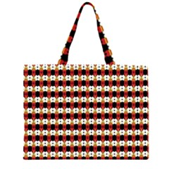 Queen Of Hearts  Hat Pattern King Large Tote Bag