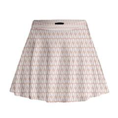 Rose Gold Line Mini Flare Skirt