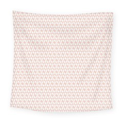 Rose Gold Line Square Tapestry (large)