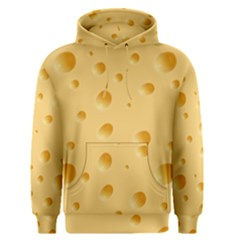 Seamless Cheese Pattern Men s Pullover Hoodie