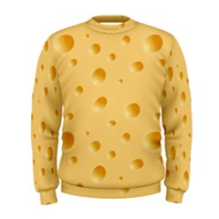 Seamless Cheese Pattern Men s Sweatshirt