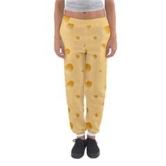 Seamless Cheese Pattern Women s Jogger Sweatpants