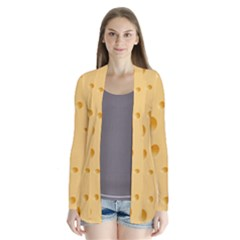 Seamless Cheese Pattern Cardigans