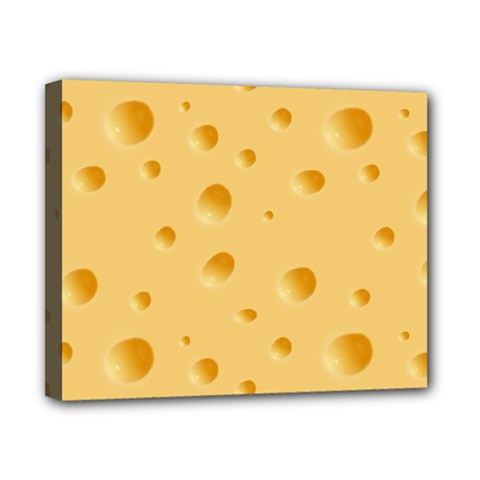 Seamless Cheese Pattern Canvas 10  x 8