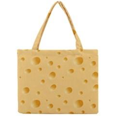 Seamless Cheese Pattern Mini Tote Bag