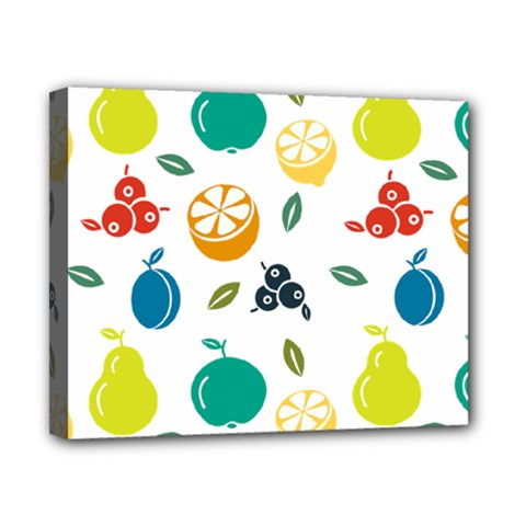 Fruit Lime Canvas 10  x 8