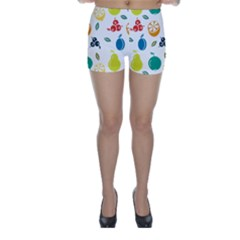 Fruit Lime Skinny Shorts