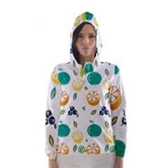 Fruit Lime Hooded Wind Breaker (Women)