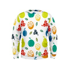 Fruit Lime Kids  Sweatshirt