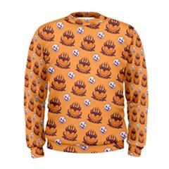 Helloween Moon Mad King Thorn Pattern Men s Sweatshirt