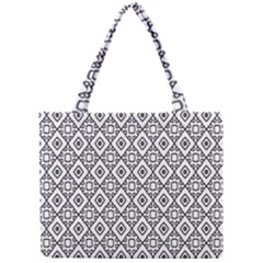 Triangel Plaid Mini Tote Bag