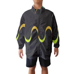 Artwork Simple Minimalism Colorful Wind Breaker (Kids)