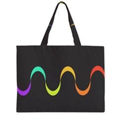 Artwork Simple Minimalism Colorful Large Tote Bag