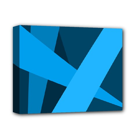 Blue Flag Deluxe Canvas 14  x 11