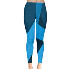 Blue Flag Leggings