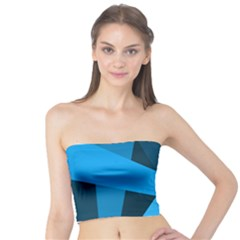 Blue Flag Tube Top