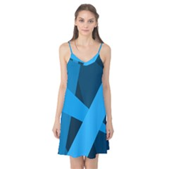 Blue Flag Camis Nightgown