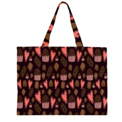 Bread Chocolate Candy Large Tote Bag