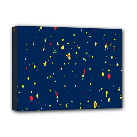 Christmas Sky Happy Deluxe Canvas 16  x 12