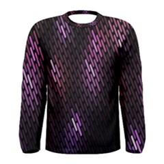 Fabulous Purple Pattern Wallpaper Men s Long Sleeve Tee