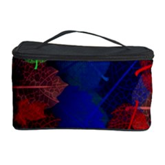 Floral Flower Rainbow Color Cosmetic Storage Case