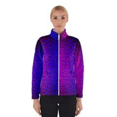 Geometri Purple Pink Blue Shape Pattern Flower Winterwear